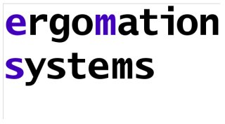 Logo ergomation systems